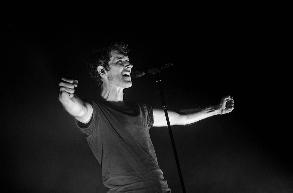 Immagine di un cantante