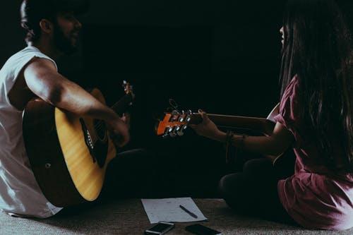Coppia di chitarristi