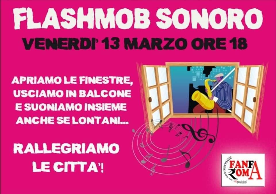 Flashmob Sonoro: Tutti i musicisti sono invitati a suonare insieme