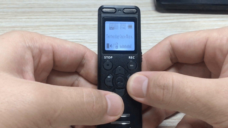 Immagine registratore vocale
