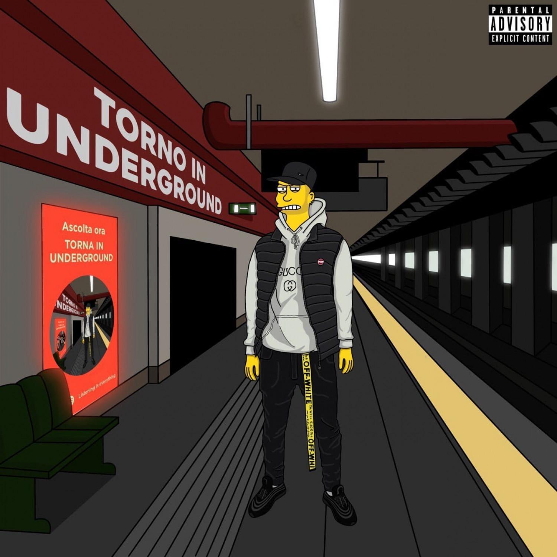 Copertina di Torna in Underground by Kokey